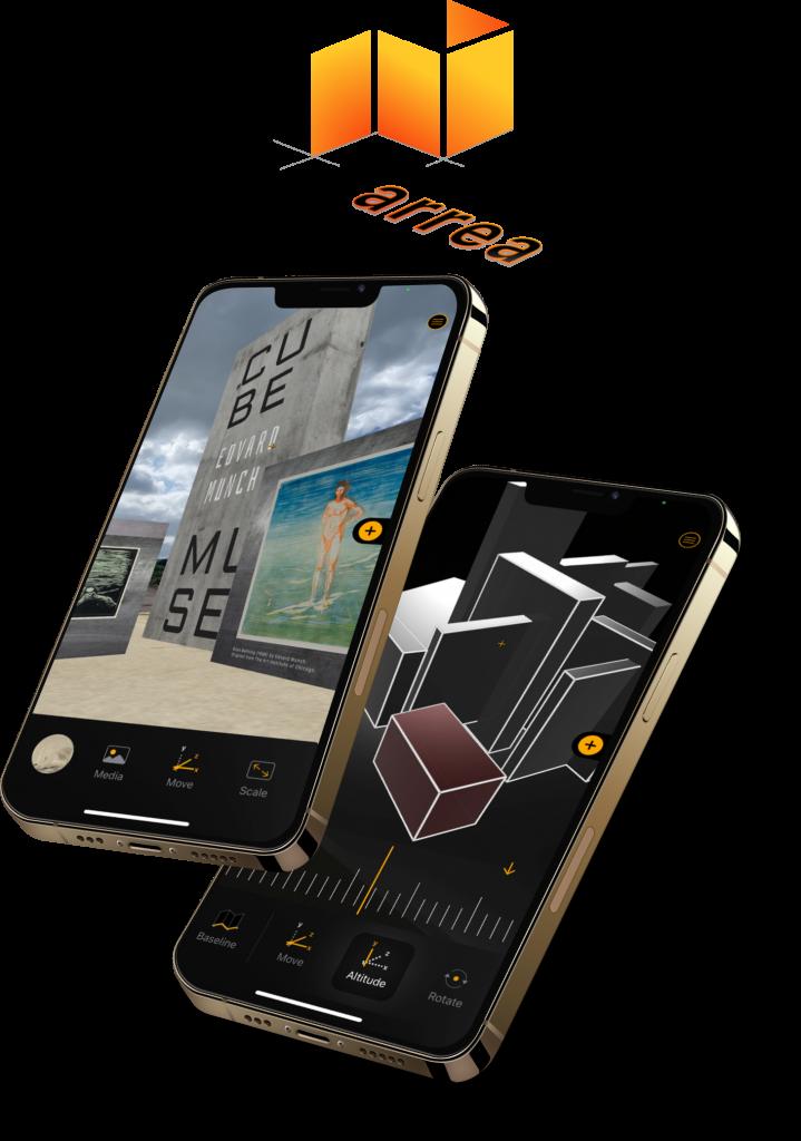Arrea - Augmented Reality App